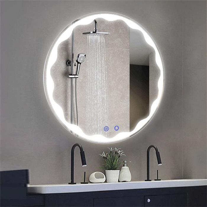 Gương phòng tắm đèn led với những ý tưởng độc đáo-7