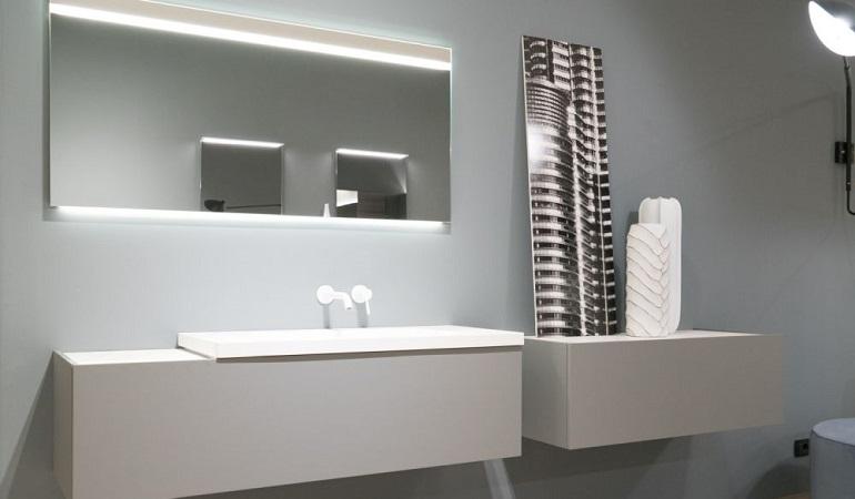 Gương phòng tắm đèn led với những ý tưởng độc đáo