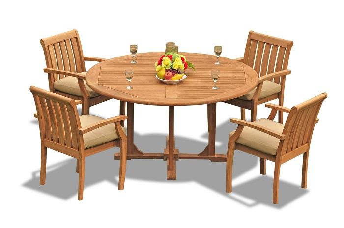Vì sao bạn nên chọn mua bàn tròn gỗ tự nhiên-2