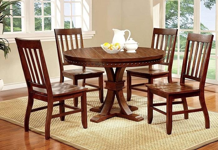 Vì sao bạn nên chọn mua bàn tròn gỗ tự nhiên-4