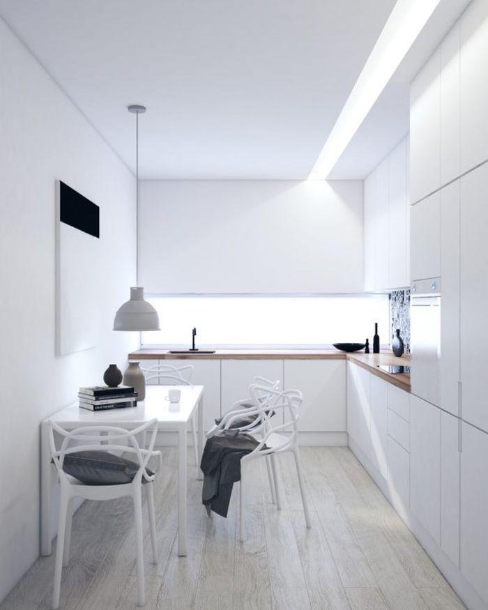 Cách bố trí bàn ăn cho không gian bếp nhỏ nhìn là mê-3