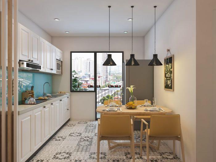 Lựa chọn và bố trí bàn ăn chung cư nhỏ hợp phong thủy-2
