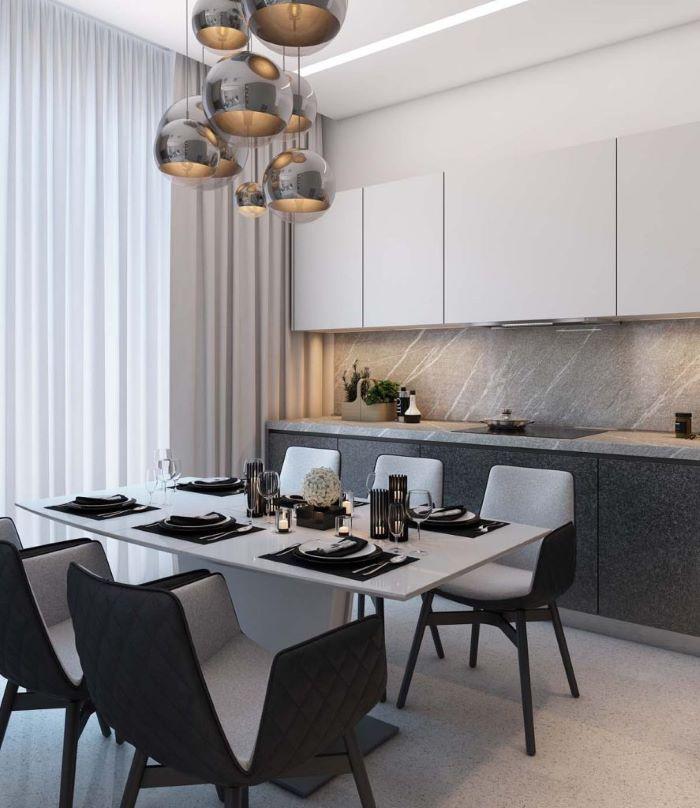 Lựa chọn và bố trí bàn ăn chung cư nhỏ hợp phong thủy-3