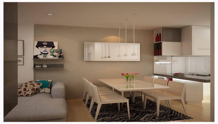 Lựa chọn và bố trí bàn ăn chung cư nhỏ hợp phong thủy-4