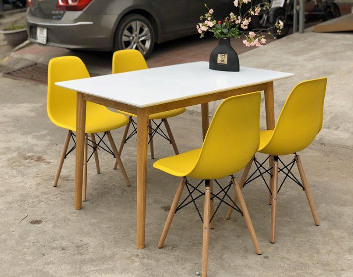 Mách bạn cách chọn bàn ăn 4 ghế đẹp giá rẻ phổ biến hiện nay-5