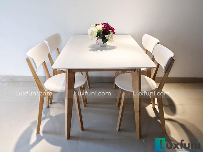 Mách bạn cách chọn bàn ăn 4 ghế đẹp giá rẻ phổ biến hiện nay-7