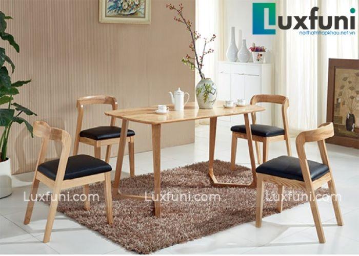 Top 5 mẫu bàn ăn bằng gỗ đẹp nhất cho căn bếp hiện đại-1