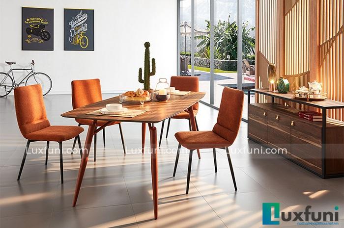 Top 5 mẫu bàn ăn bằng gỗ đẹp nhất cho căn bếp hiện đại-2