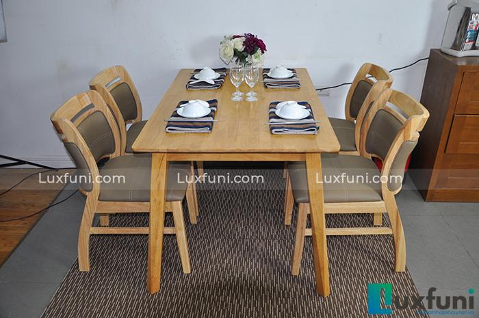 Top 5 mẫu bàn ăn bằng gỗ đẹp nhất cho căn bếp hiện đại-5