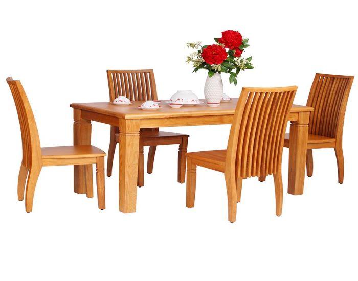 Top 5 mẫu bàn ăn bằng gỗ đẹp nhất cho căn bếp hiện đại-8