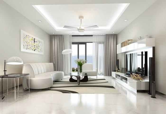 Tư vấn thiết kế nội thất phòng khách theo phong thủy chuẩn nhất-5