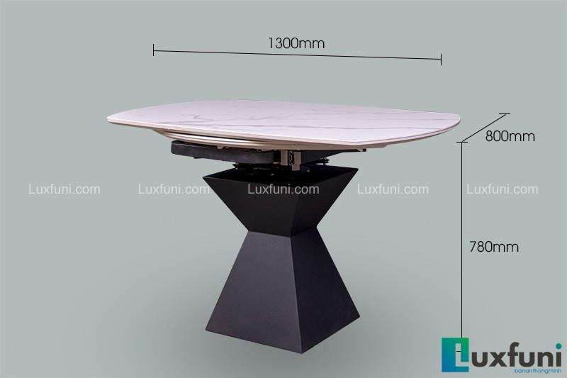 7 mẫu bàn ăn thông minh mặt đá hút khách-2