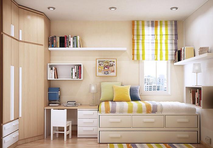 Bật mí cách trang trí phòng ngủ nhỏ đẹp giá bình dân-1