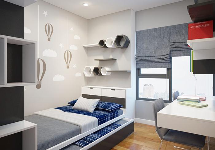 Bật mí cách trang trí phòng ngủ nhỏ đẹp giá bình dân-2
