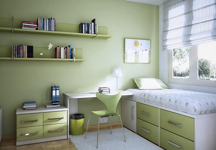 Bật mí cách trang trí phòng ngủ nhỏ đẹp giá bình dân-3