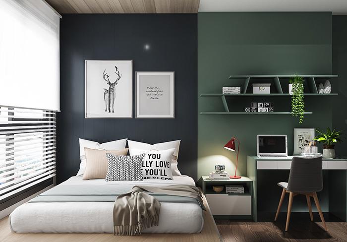 Kinh nghiệm Decor phòng ngủ đơn giản mà ấn tượng-1