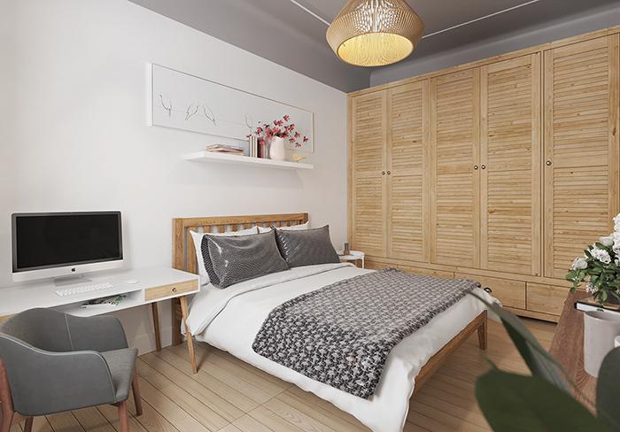 Kinh nghiệm Decor phòng ngủ đơn giản mà ấn tượng-2