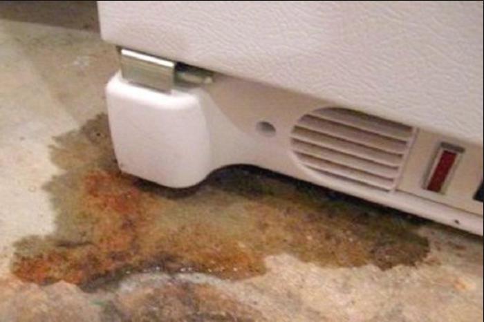 Tủ lạnh bị chảy nước - làm sao đây-1