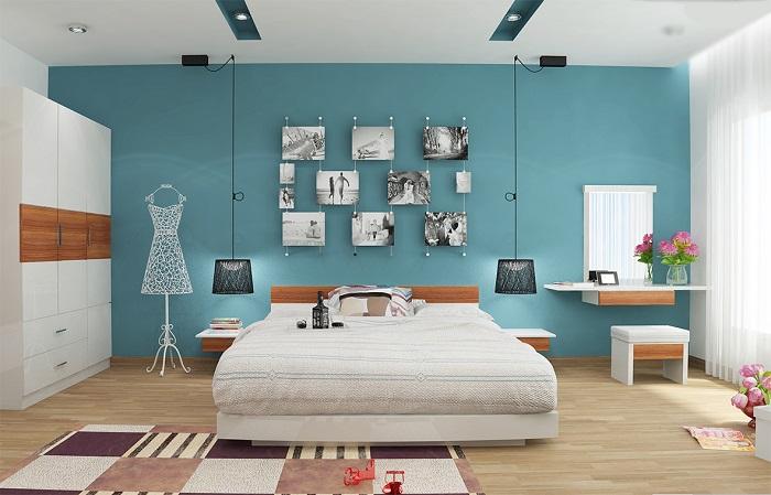 Gợi ý cách trang trí nội thất phòng ngủ đẹp hiện đại và sang trọng nhất-3