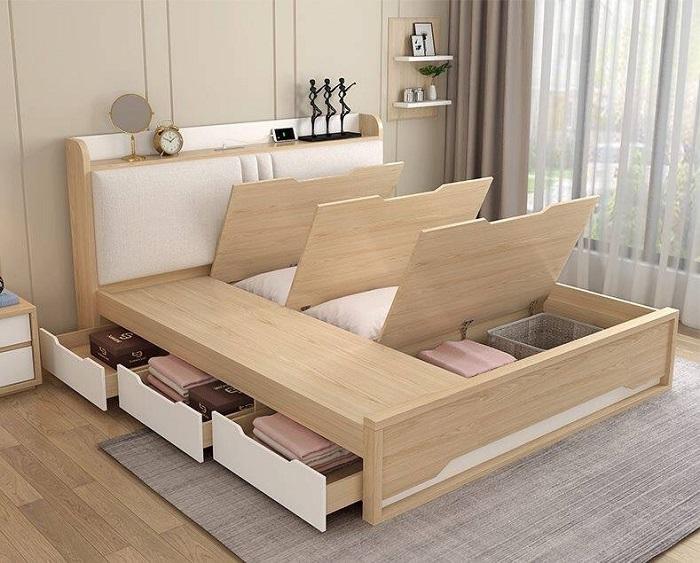 Thiết kế đồ nội thất phòng ngủ nhỏ thông minh-2