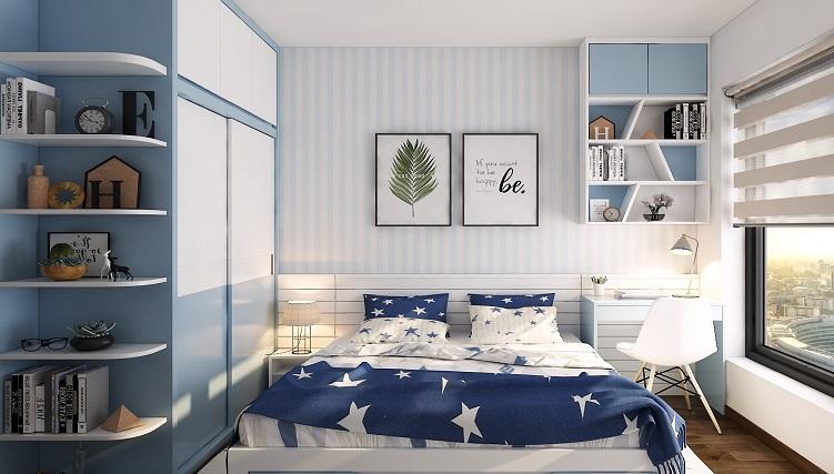 Thiết kế đồ nội thất phòng ngủ nhỏ thông minh-3