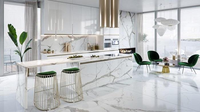 Tổng hợp những thiết kế phòng bếp đẹp hiện đại và sang chảnh-1