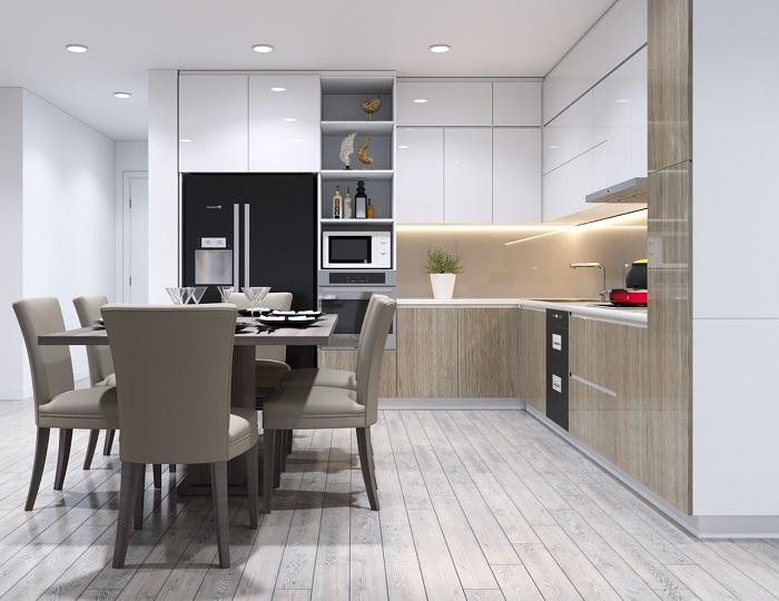 Tổng hợp những thiết kế phòng bếp đẹp hiện đại và sang chảnh-6
