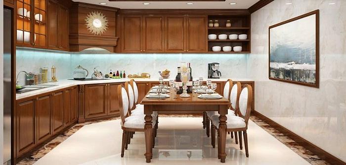 Tổng hợp những thiết kế phòng bếp đẹp hiện đại và sang chảnh-7