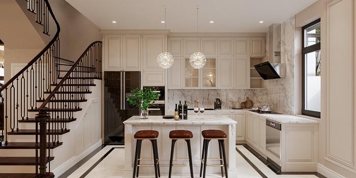 Tổng hợp những thiết kế phòng bếp đẹp hiện đại và sang chảnh-8