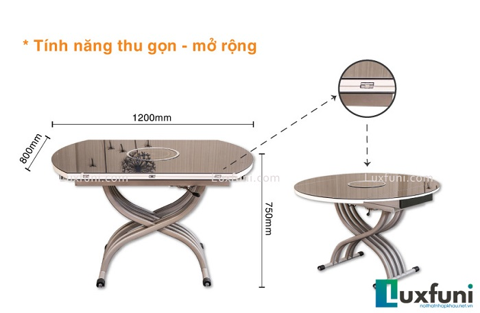 Điểm danh những mẫu bàn ăn hiện đại giá rẻ, đẹp thời thượng-3
