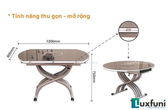 Những mẫu bàn ăn thông minh nhập khẩu trang nhã và thời thượng-6