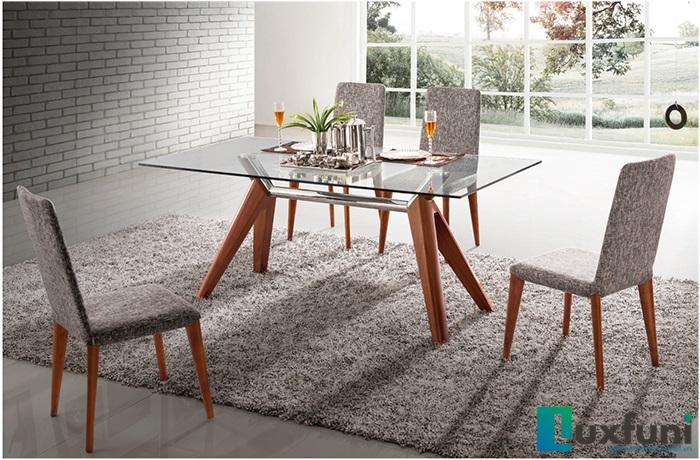 Tổng hợp những mẫu bàn ăn mặt kính giá rẻ, bền đẹp-2