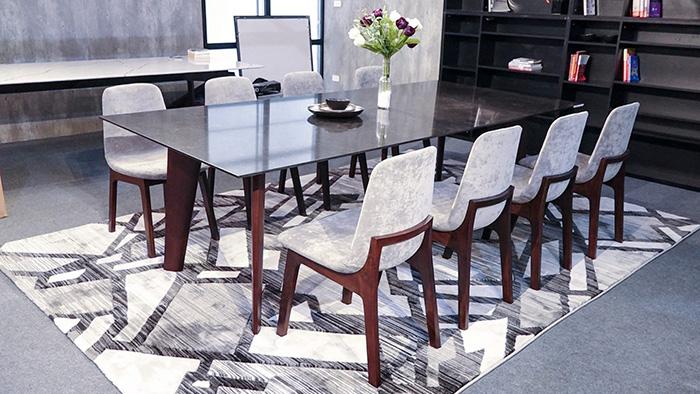 Mẫu bàn ăn hiện đại nhiều ghế
