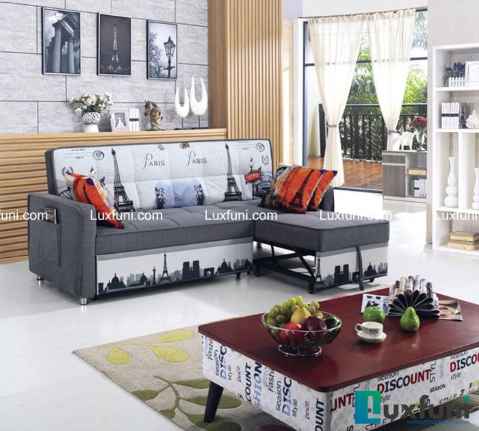 Sofa giường thông minh BK-6080 đẹp phòng khách