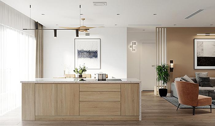 Giá tủ bếp thông minh Acrilic đẹp hiện đại.