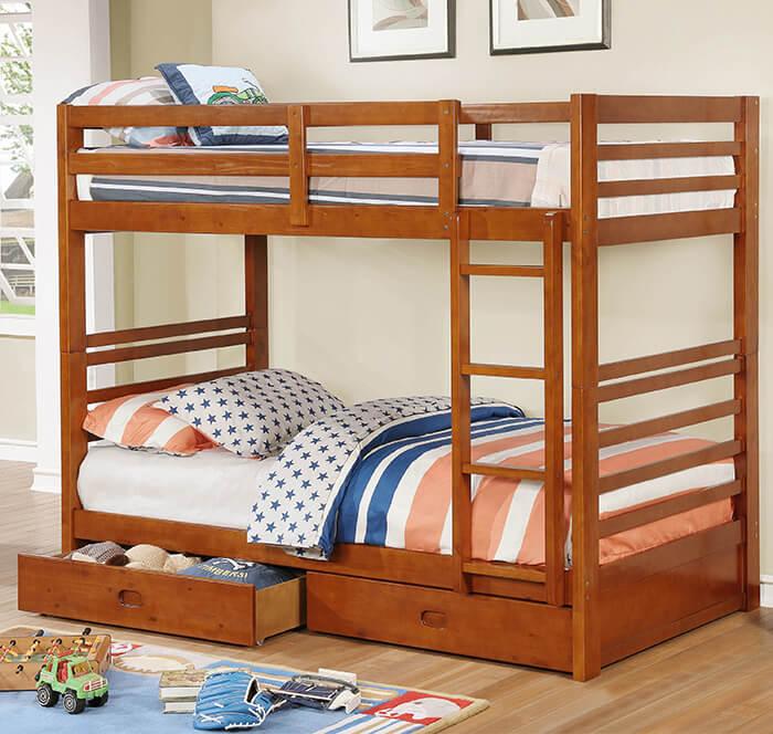 Lợi ích của giường tầng cho bé