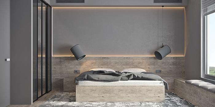 Thiết kế tối giản cho căn phòng