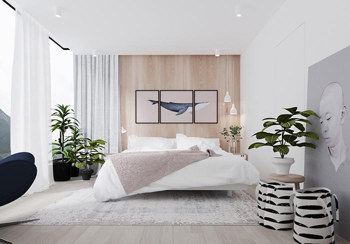 Mẫu phòng ngủ tối giản đẹp mắt