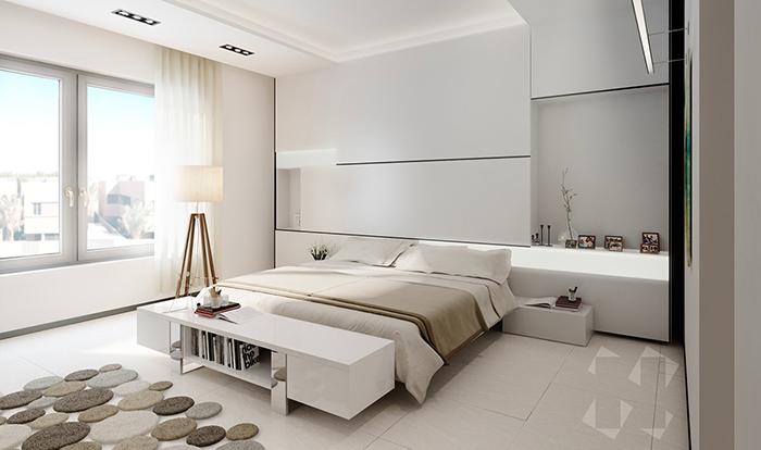 Mẫu phòng tối giản đẹp mắt