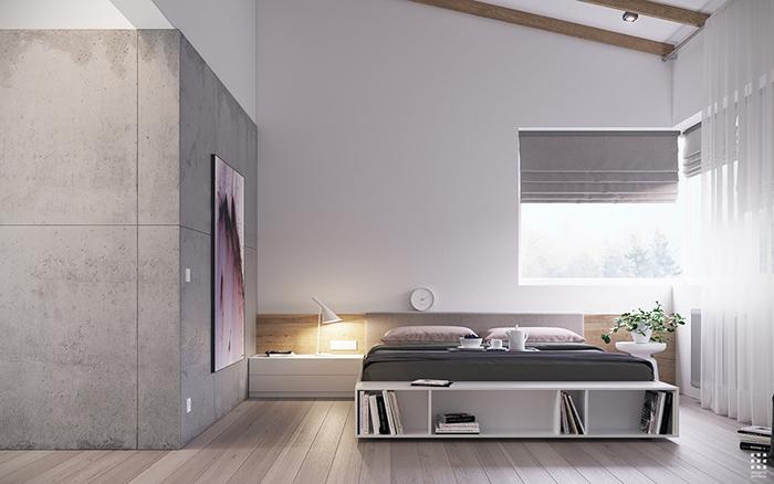 Thiết kế căn phòng phong cách tối giản