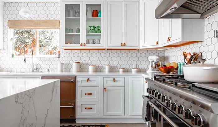 Các mẫu gạch ốp tường bếp đẹp là xu thế 2021