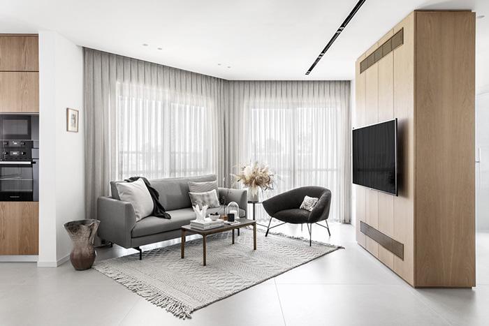 Không gian nội thất đẹp theo phong cách hiện đại
