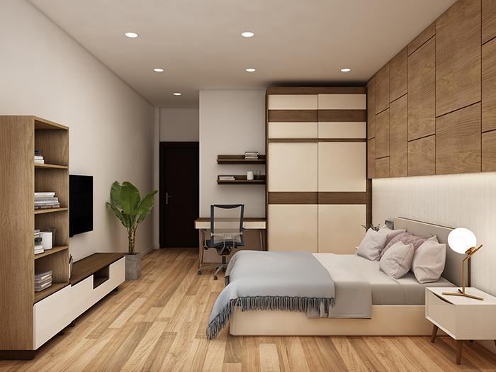 Không gian phòng ngủ thư giãn